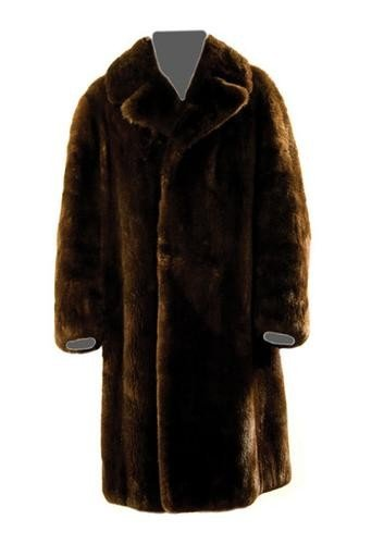 13: GOREY, Edward (1925 - 2000) Fur Coat owned and wor