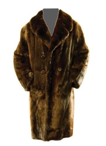 15: GOREY, Edward (1925 - 2000) Fur Coat owned and wor