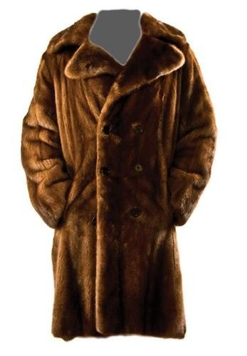 16: GOREY, Edward (1925 - 2000) Fur Coat owned and wor
