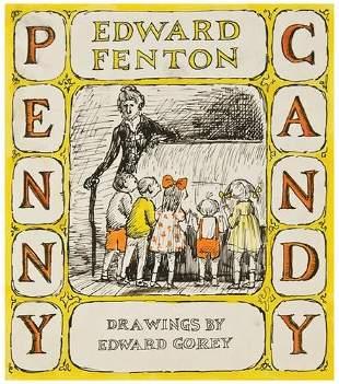 GOREY, Edward (1925-2000) Original drawing for cov