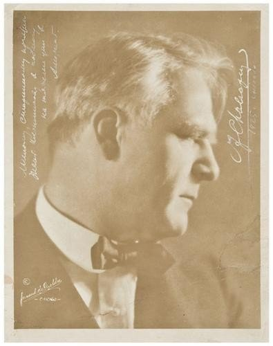 19: CHALIAPIN, Feodor  (1873-1938) Photograph by Ferna