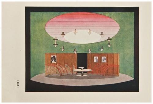 24: EFROS, Abram (1888-1954) Kamernyi teatr [The Kamer