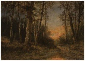 109: KLEVER, Yuri Ulievitch (1850-1924) Sunset