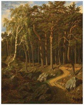 110: KRACHKOVSKY, Yosef (1854-1914) Forest Path