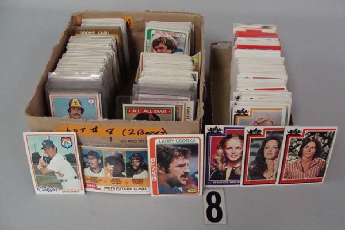 BOX WITH ASSTD. 1978 TO 1981 TOPPS BASEBALL