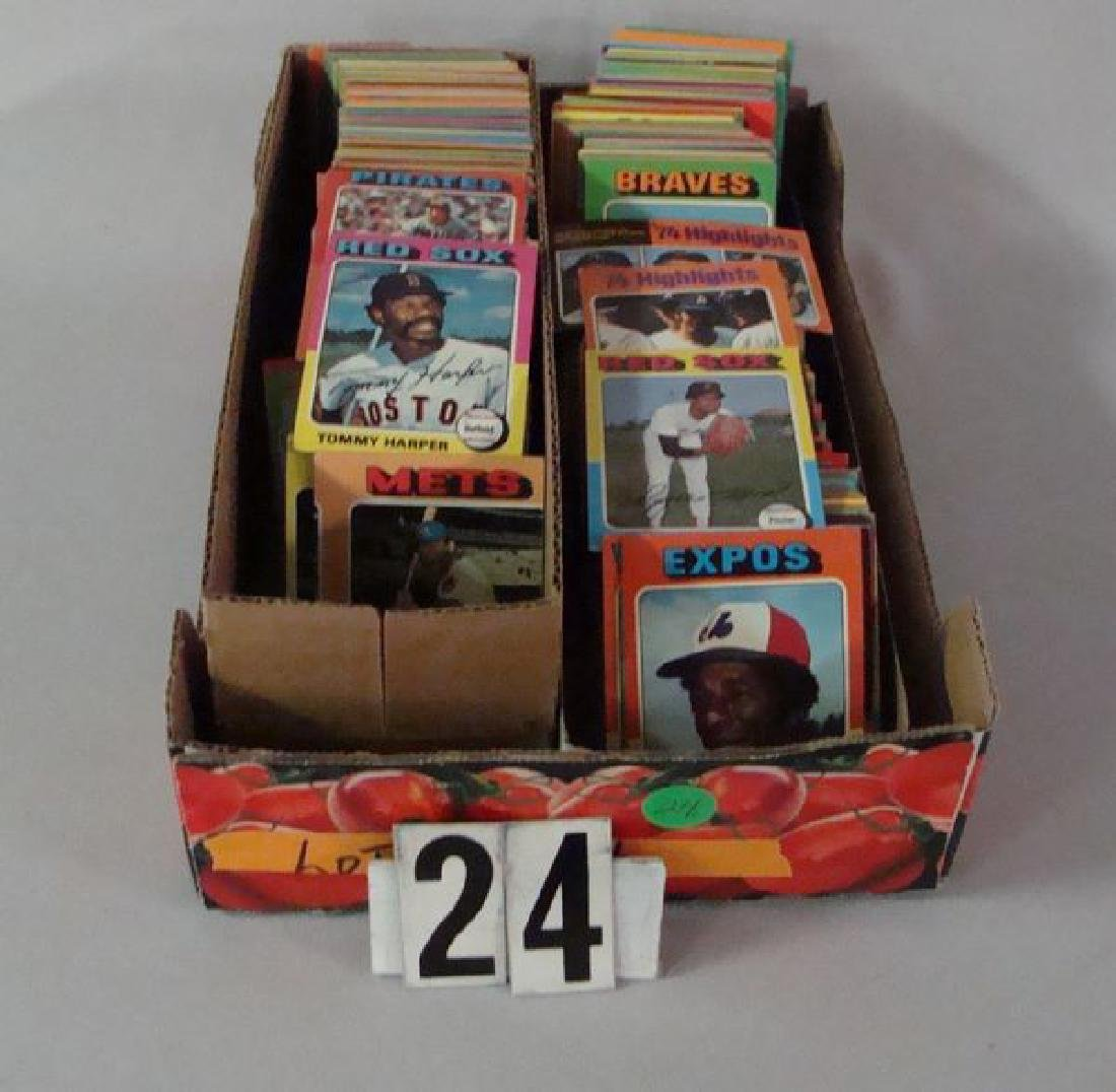 (APPROX. 750) 1975 TOPPS BASEBALL CARDS