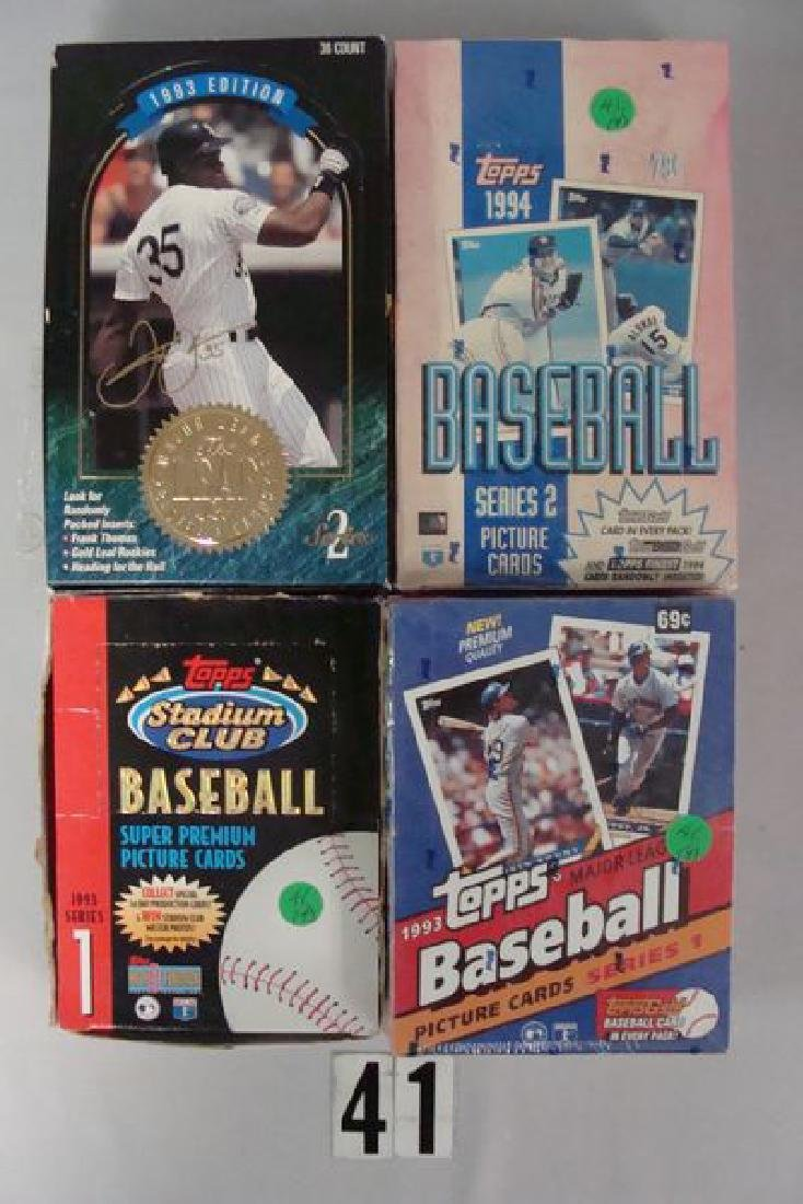 BASEBALL WAX BOXES: 1983 TOPPS SERIES I