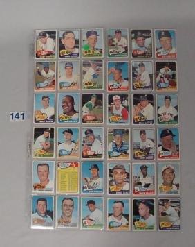 (38) 1968 TOPPS BASEBALL CARDS
