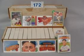 1982 & 1983 DONRUSS BASEBALL CARD SETS