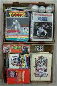 (2) GRAB BOXES - LOT INCLUDES PHILLIES