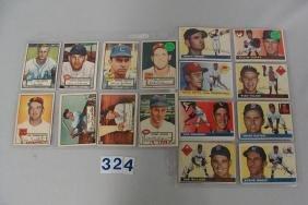 (8 DIFF) 1952 TOPPS BASEBALL CARDS