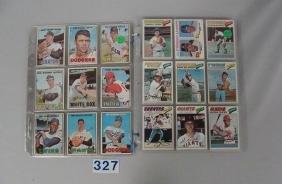 (36 DIFF) 1967 TOPPS BASEBALL CARDS