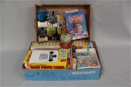 (2) GRAB BOXES: LOT INCLUDES (22) 1972 TOPPS