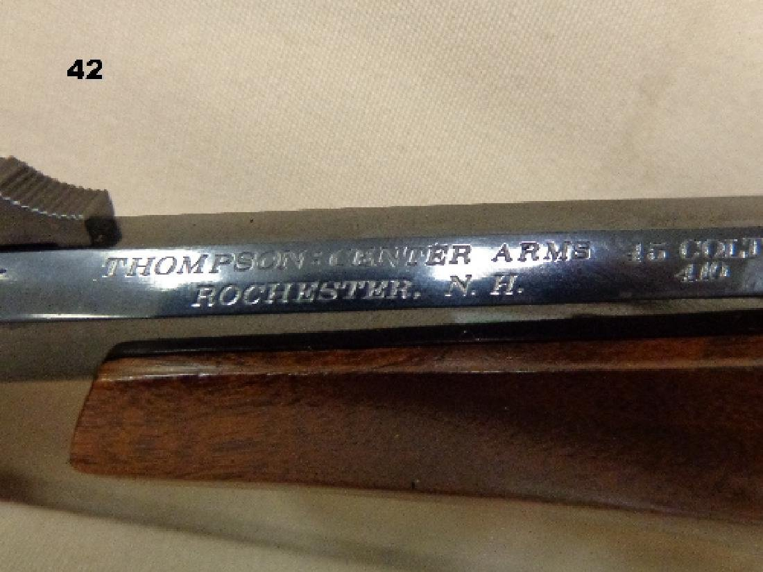 THOMPSON 45 COLT, 410 GAUGE SINGLE SHOT - 4