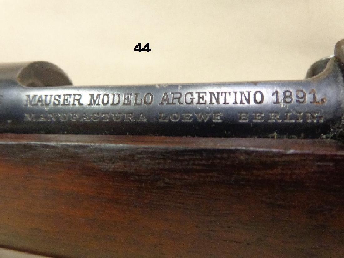 MAUSER MODEL-1891, 8 MM BOLT ACTION RIFLE - 4