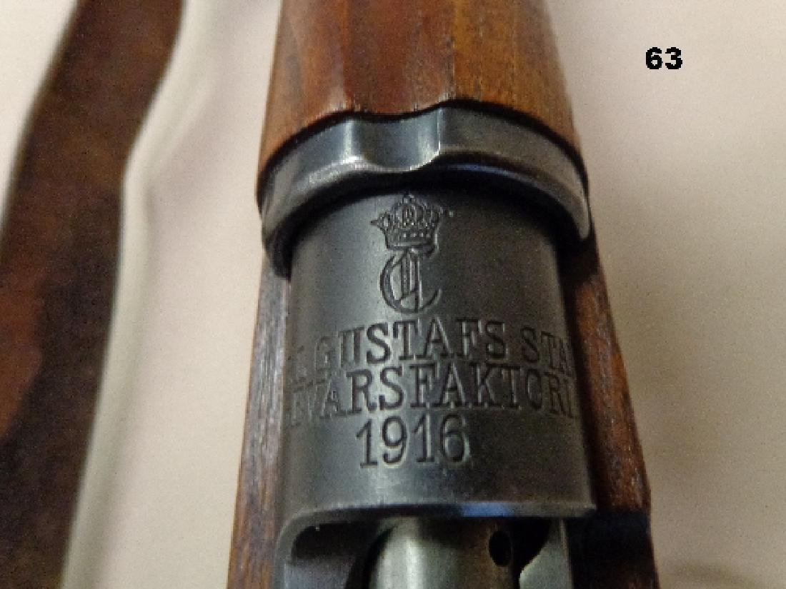 SWEDISH MAUSER MODEL-1916 CARBINE BOLT - 7