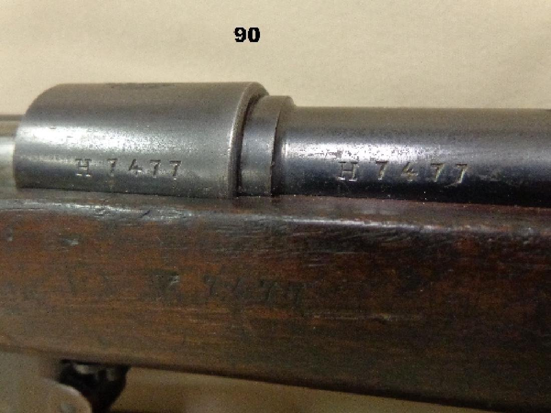 MAUSER MODEL-1891, 8 MM BOLT ACTION RIFLE, - 3