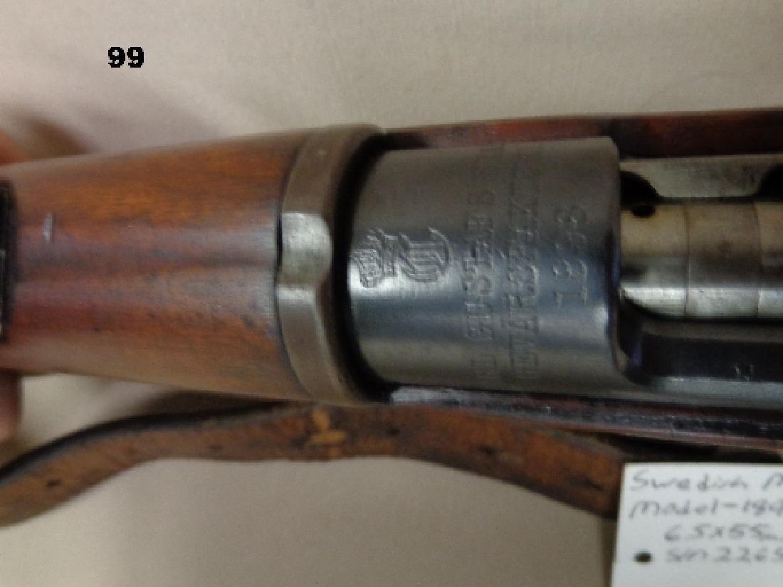 SWEDISH MAUSER MODEL-1898, 6.5X55MM BOLT - 4