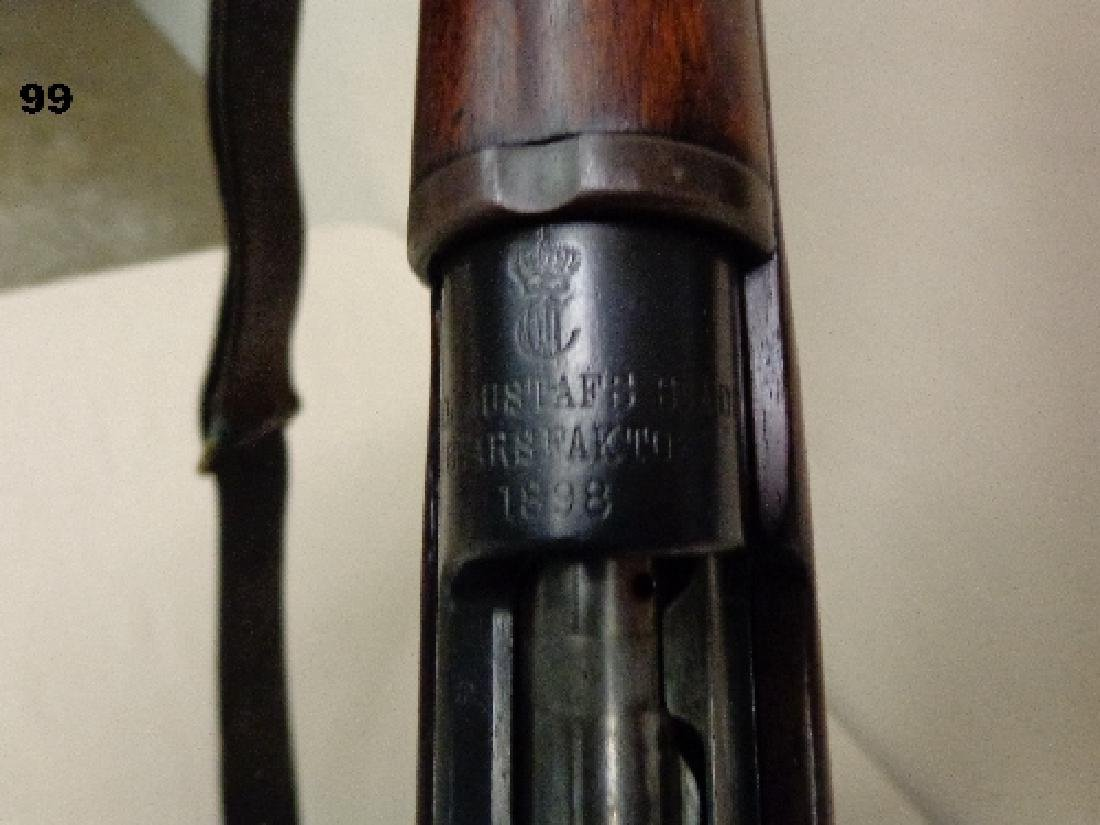 SWEDISH MAUSER MODEL-1898, 6.5X55MM BOLT - 5