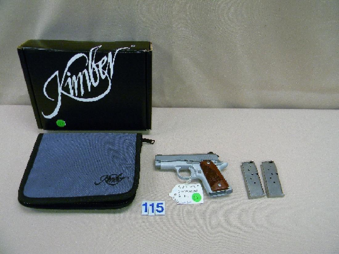 KIMBER MICRO-9, 9MM SEMI-AUTO HAND GUN