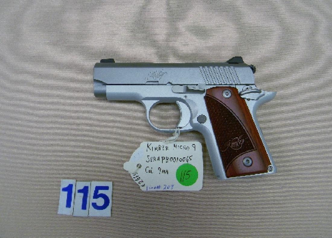KIMBER MICRO-9, 9MM SEMI-AUTO HAND GUN - 2
