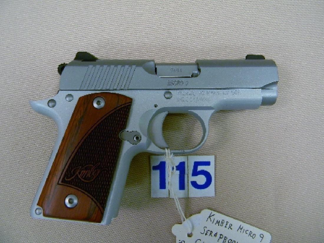 KIMBER MICRO-9, 9MM SEMI-AUTO HAND GUN - 4