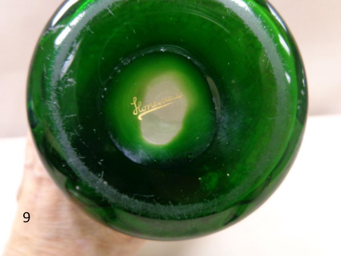 HONESDALE ART NOUVEA CAMEO GLASS VASE - 3