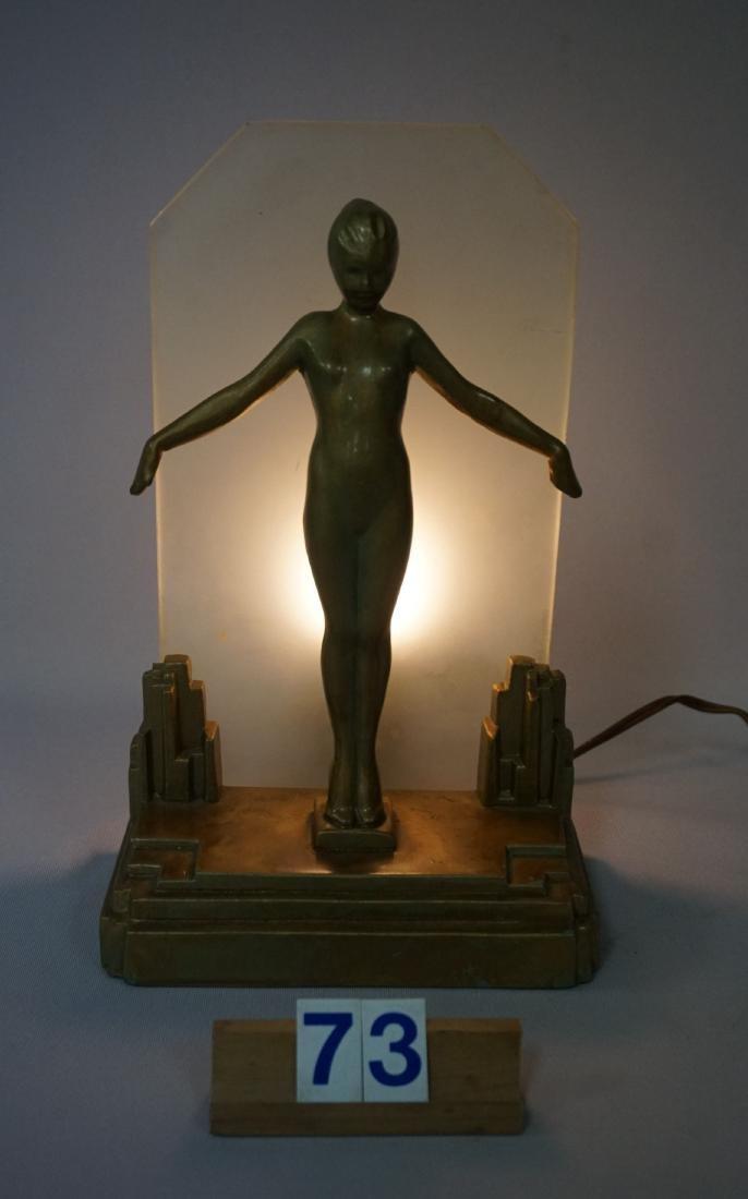 FRANKART ART DECO LAMP (CIRCA 1920'S)