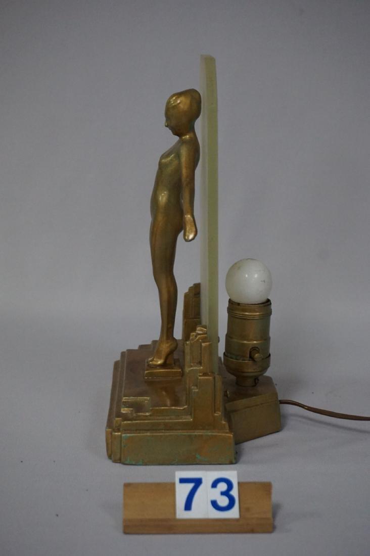 FRANKART ART DECO LAMP (CIRCA 1920'S) - 6