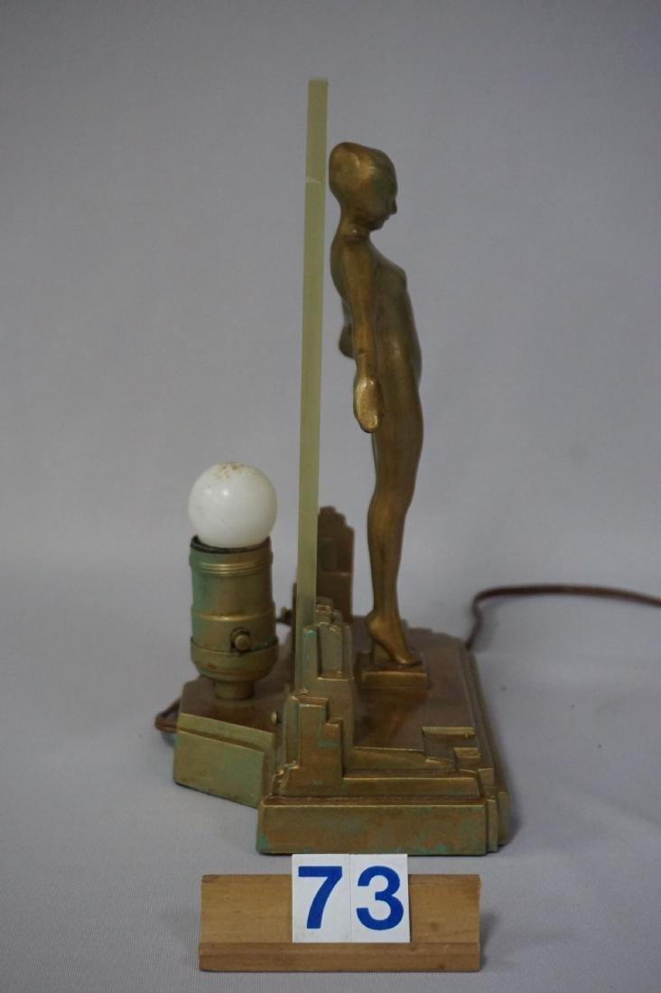 FRANKART ART DECO LAMP (CIRCA 1920'S) - 7