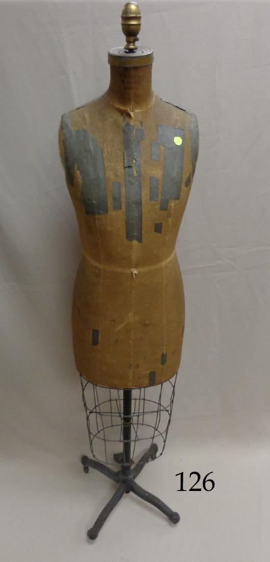 ANTIQUE BAUMAN MODEL DRESS FORM,