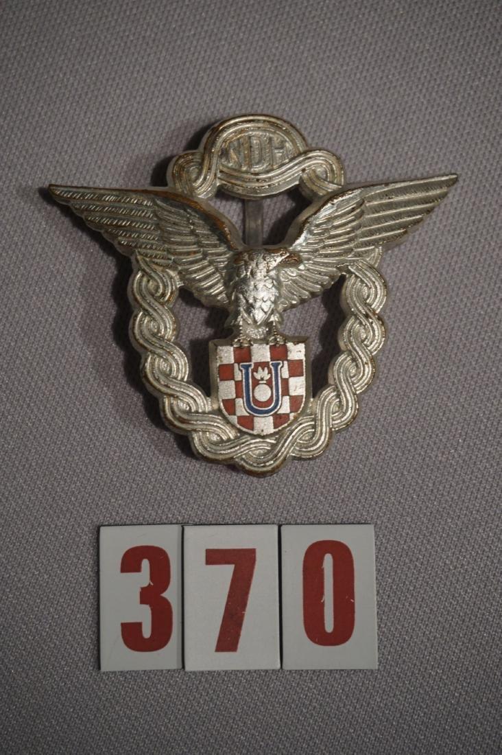 KROATIAN PILOT BADGE IN SILVER