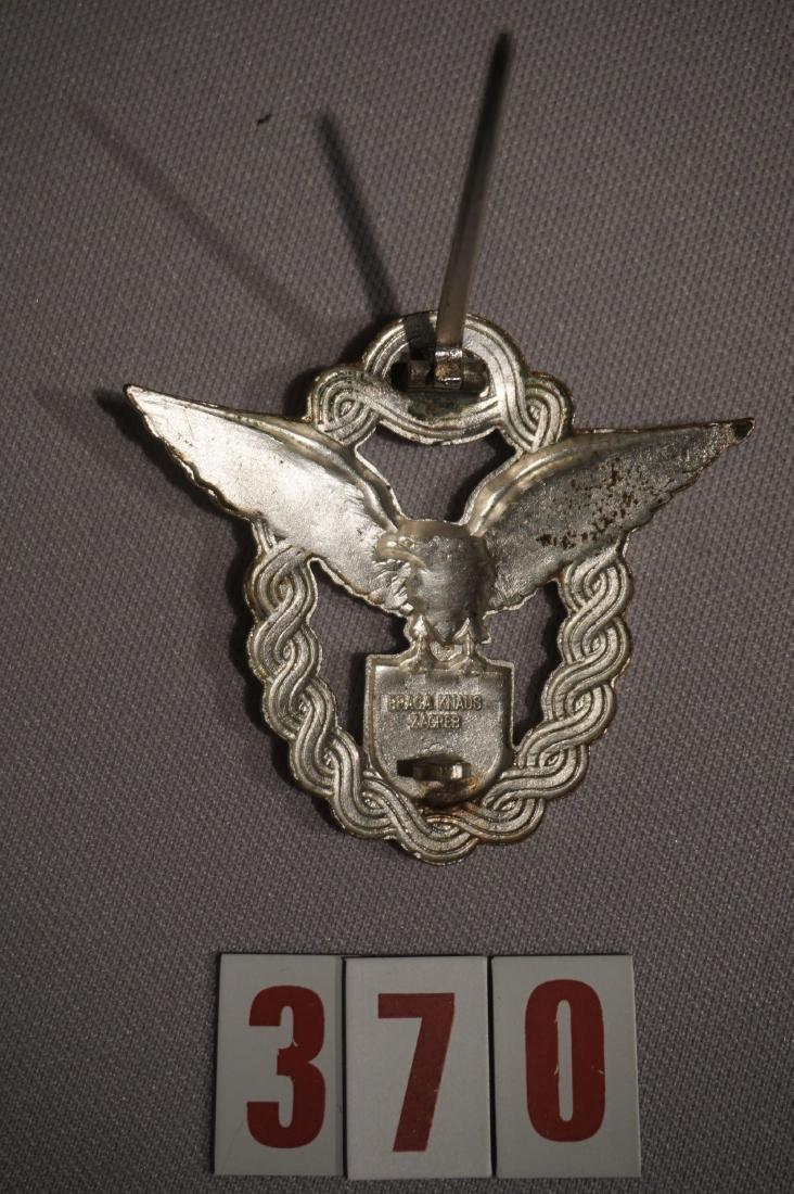 KROATIAN PILOT BADGE IN SILVER - 3