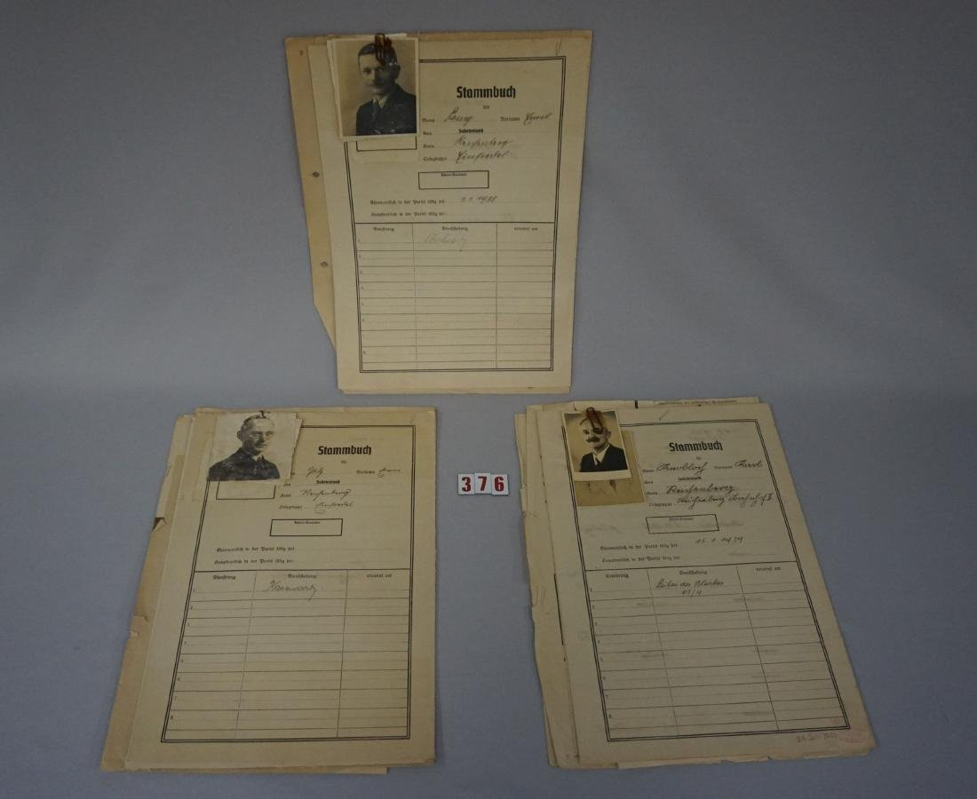 PERSONAL FILES FROM SUDETENLAND NAZI - 2