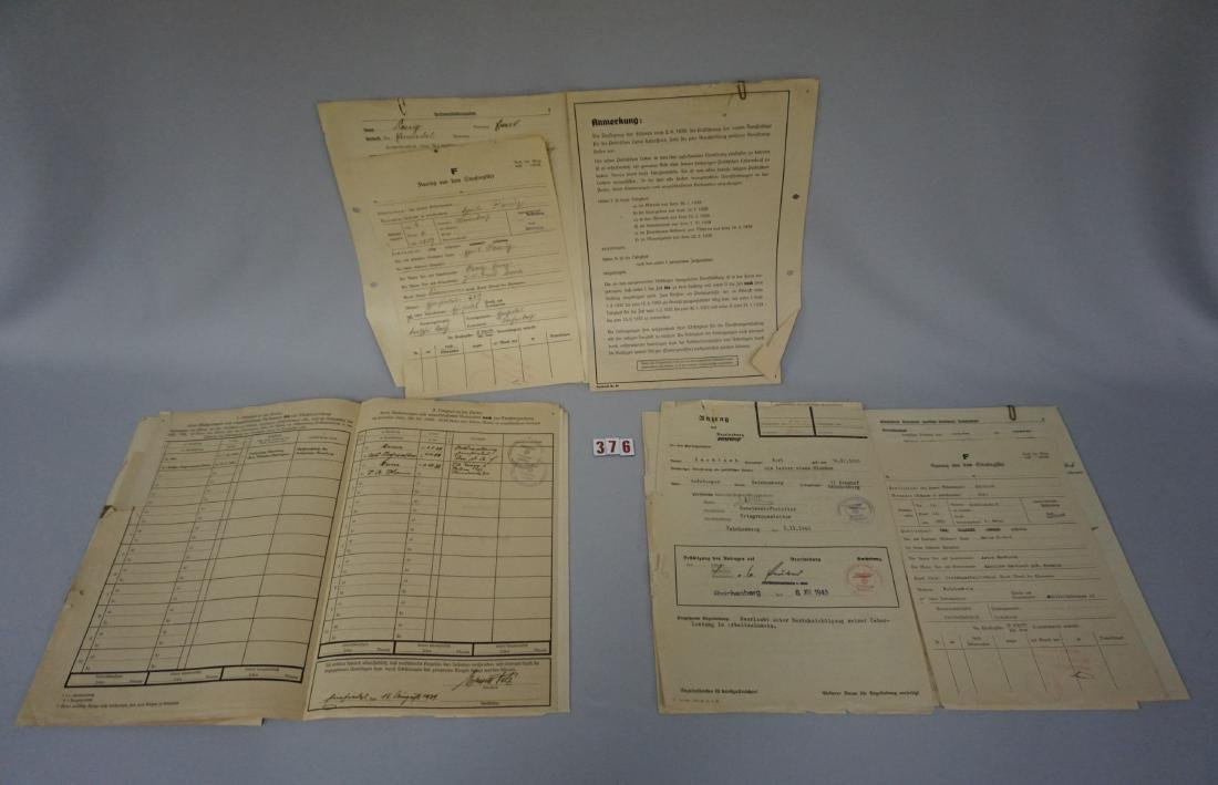 PERSONAL FILES FROM SUDETENLAND NAZI - 3