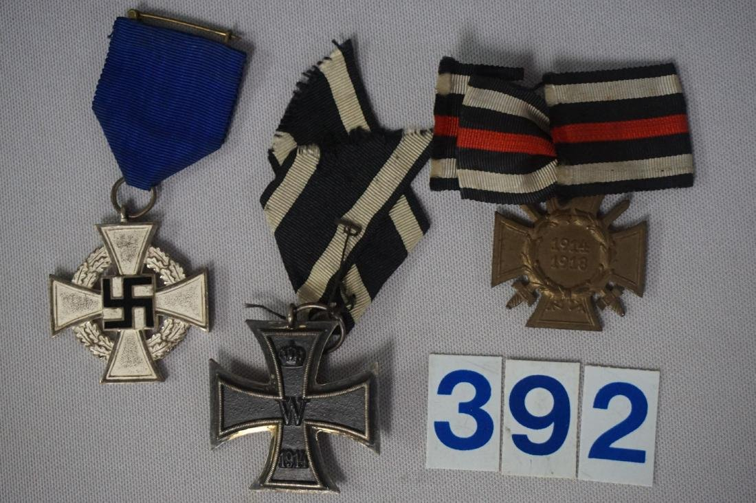 GROUP OF (3) MEDALS WITH CITATIONS - 5
