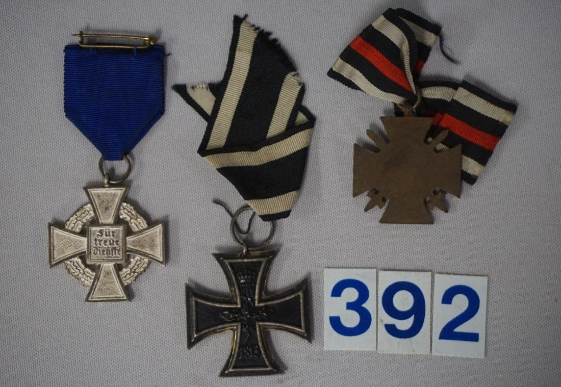 GROUP OF (3) MEDALS WITH CITATIONS - 6