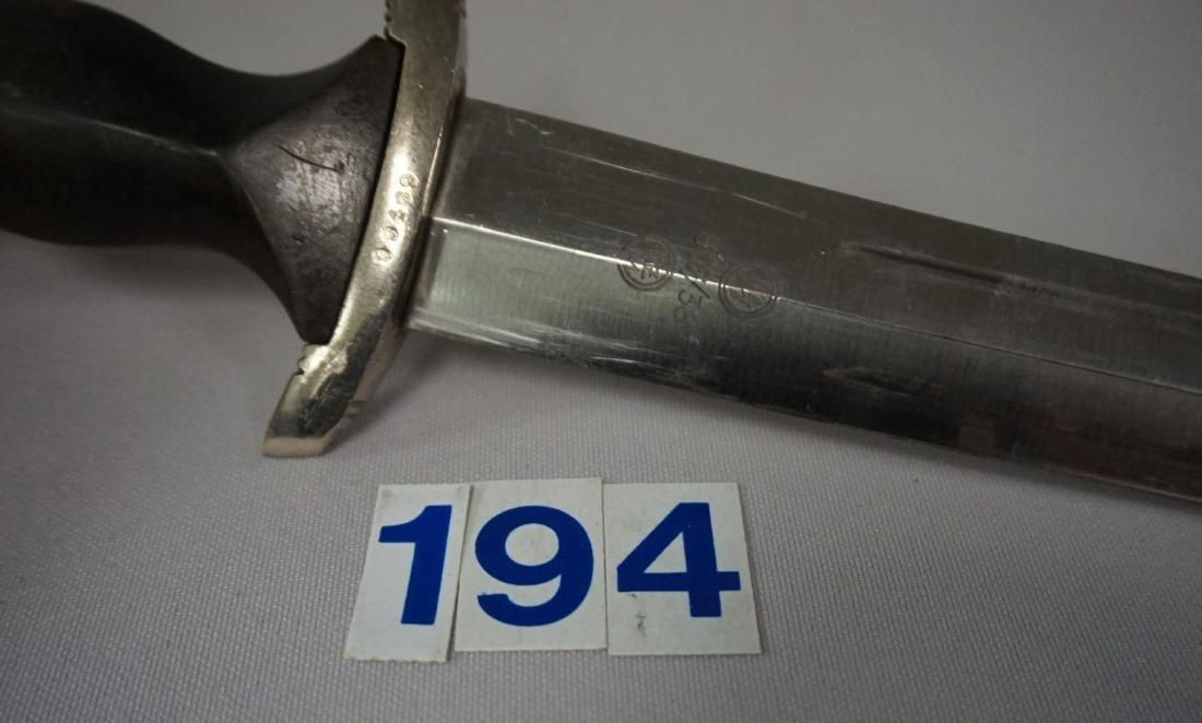 1936 EM SS DAGGER, OWNER IDENTIFIED, - 7