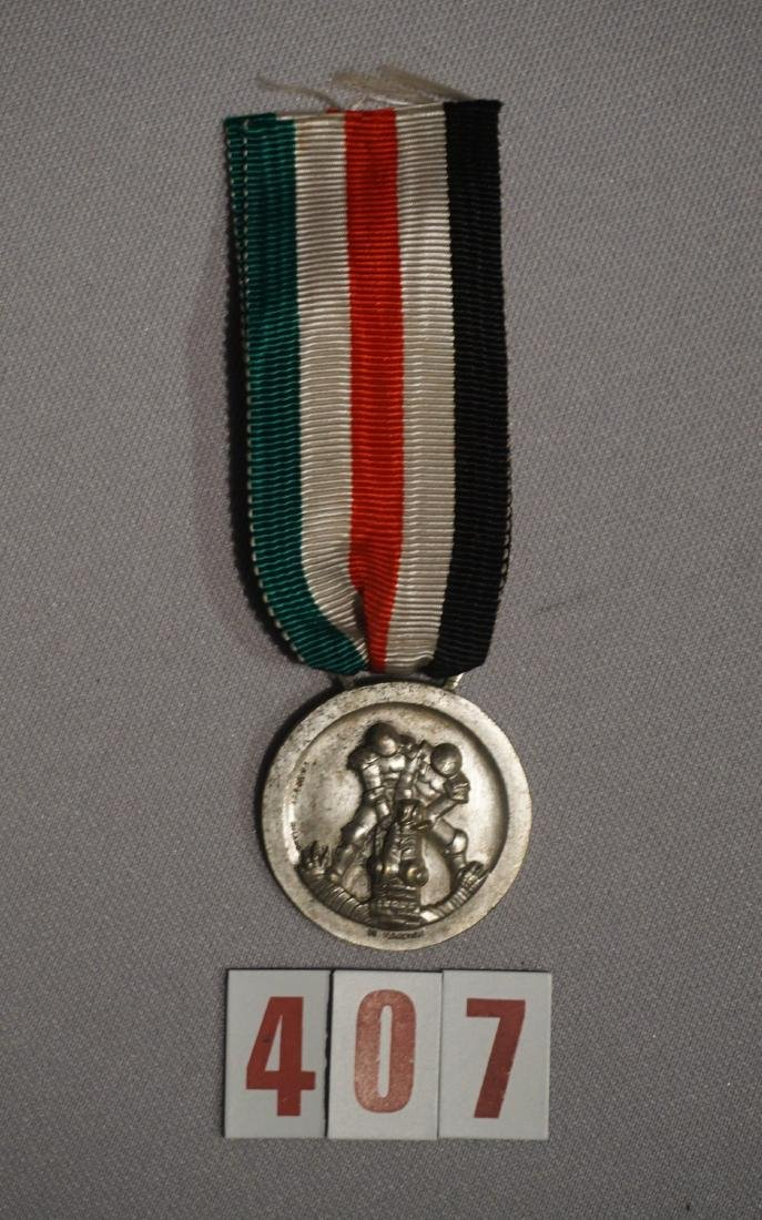 AFRIKA KORPS MEDAL ISSUED BY ITALY