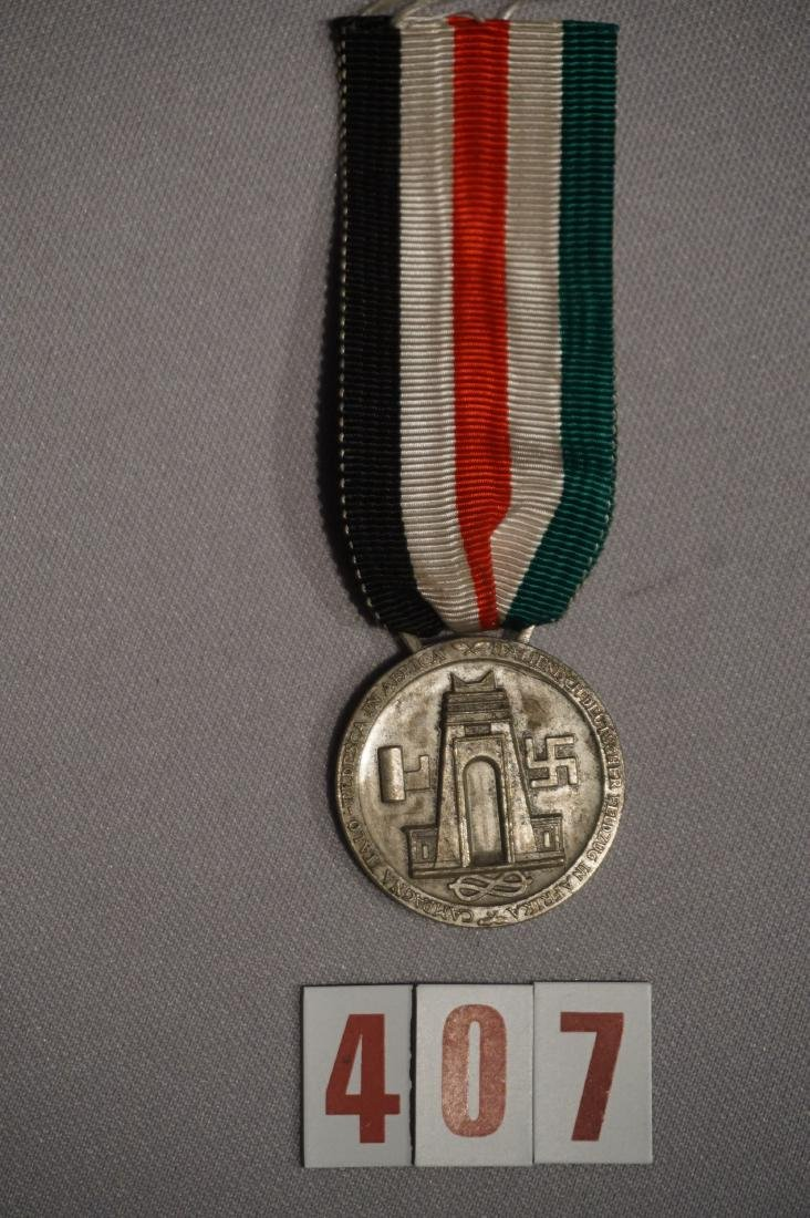 AFRIKA KORPS MEDAL ISSUED BY ITALY - 3