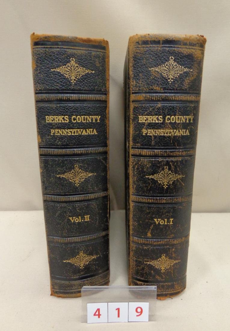2 VOLUMES: HISTORICAL & BIOGRAPHICAL