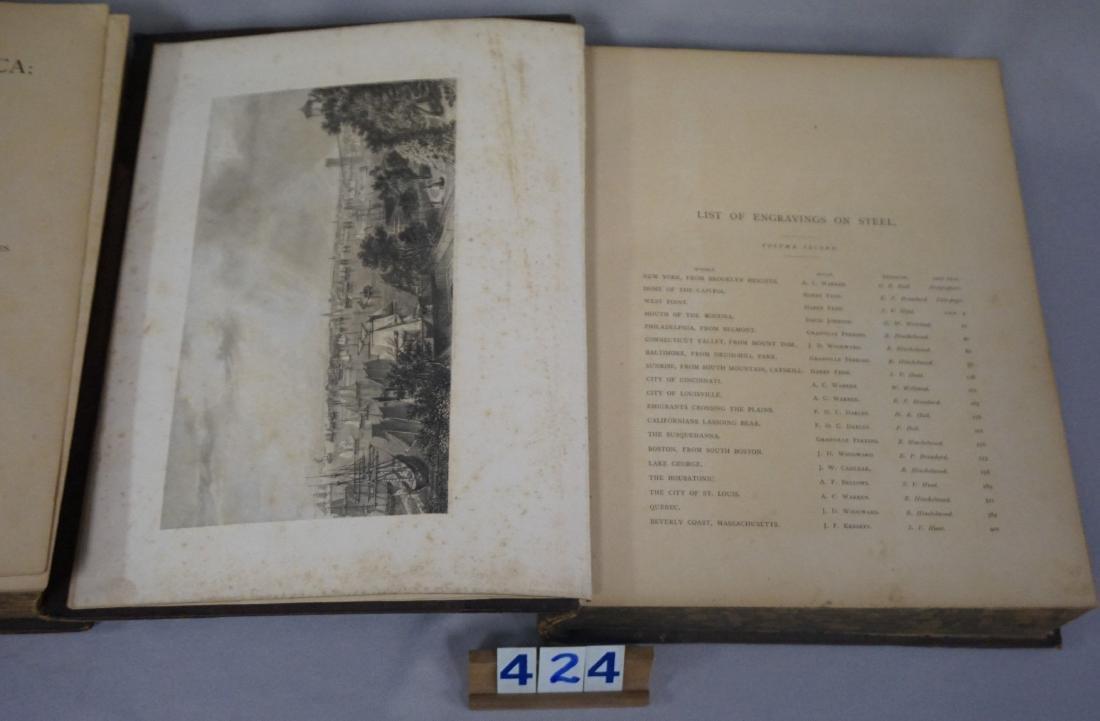 VOLUMES I & II PICTURESQUE AMERICA - 5