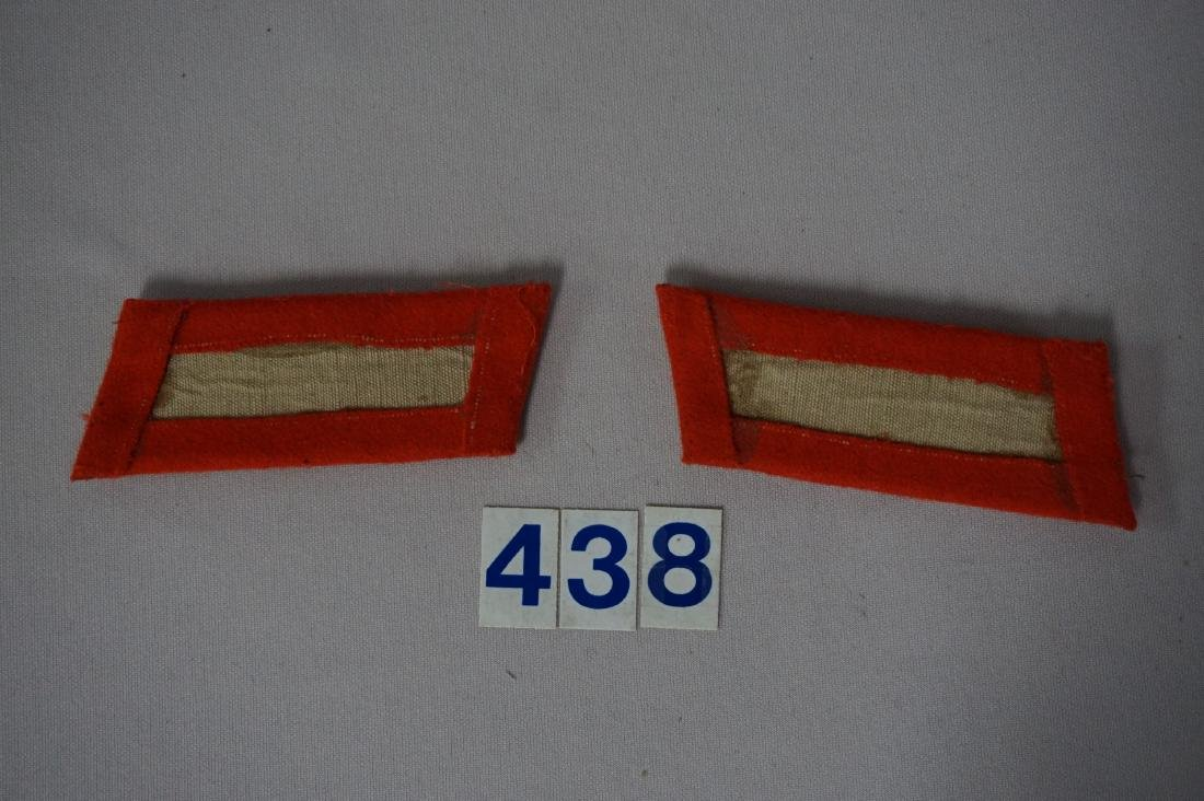 WW II GERMAN GENERAL'S COLLAR TABS - - 2