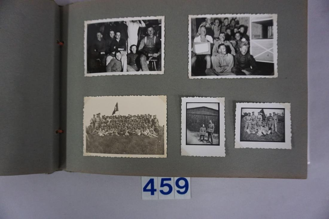 RAD PHOTO ALBUM WITH (145) PHOTOS, - 4