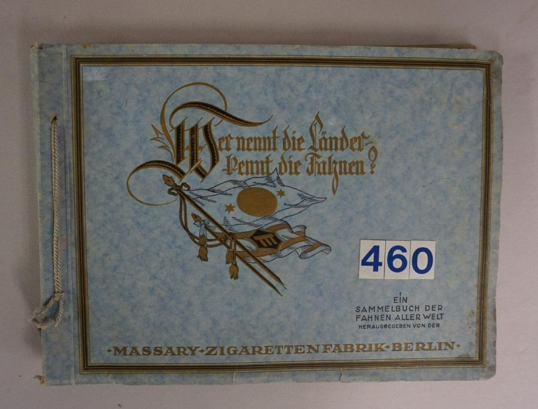 CIGARETTE ALBUM BOOK WITH INTERNATIONAL