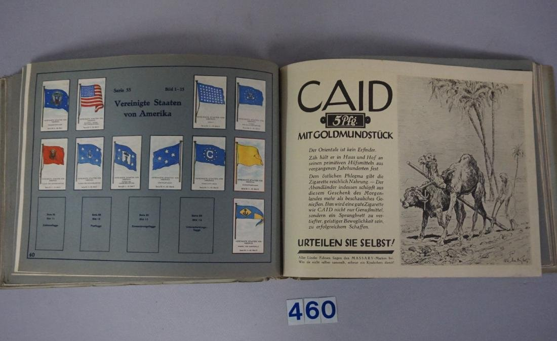 CIGARETTE ALBUM BOOK WITH INTERNATIONAL - 6