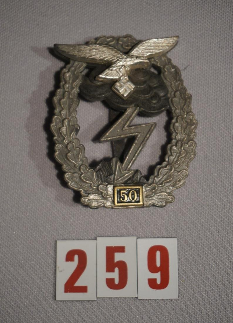 GROUND ASSAULT BADGE (FOR FIFTY ASSULTS)
