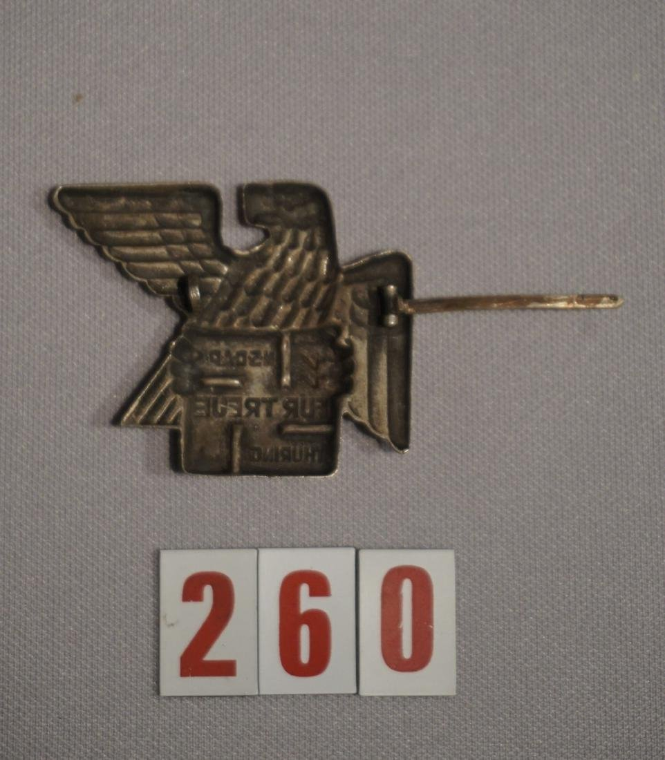 THURINGIA NSDAP BADGE FOR LOYALTY, - 3