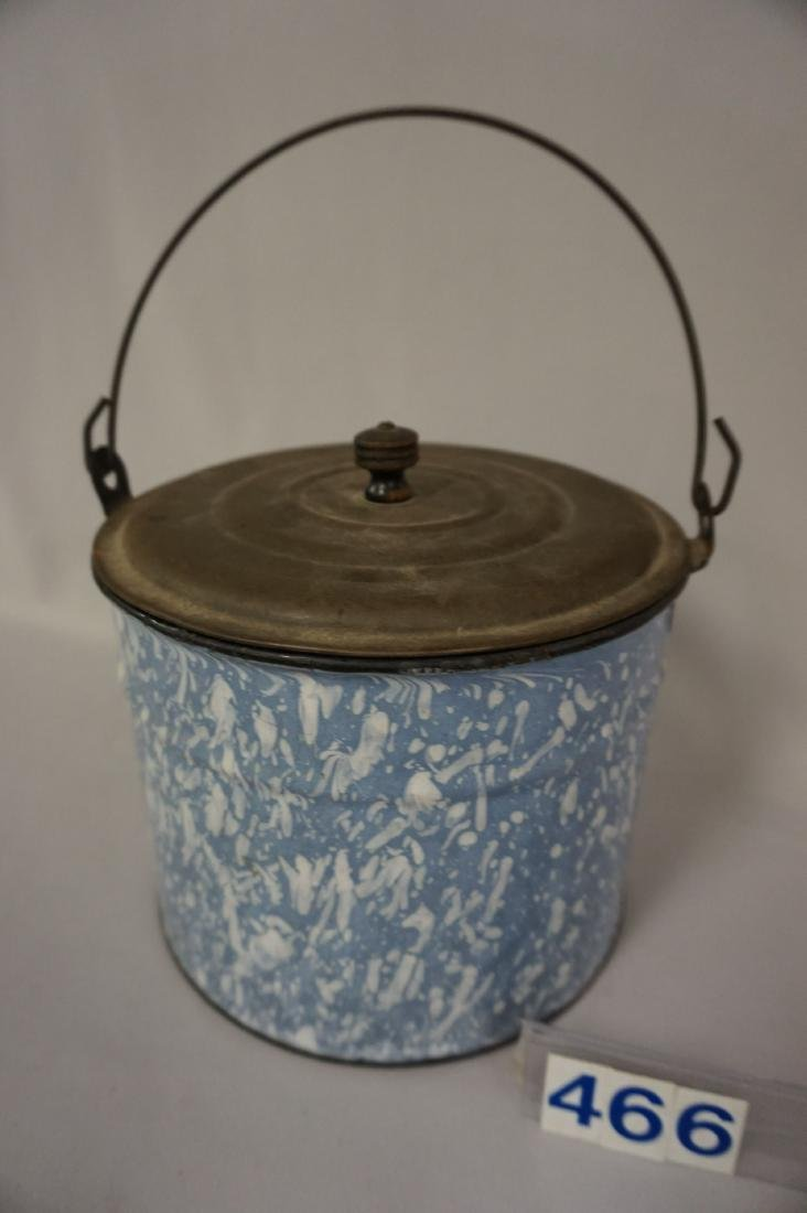AGATE BERRY PAIL (LIGHT BLUE