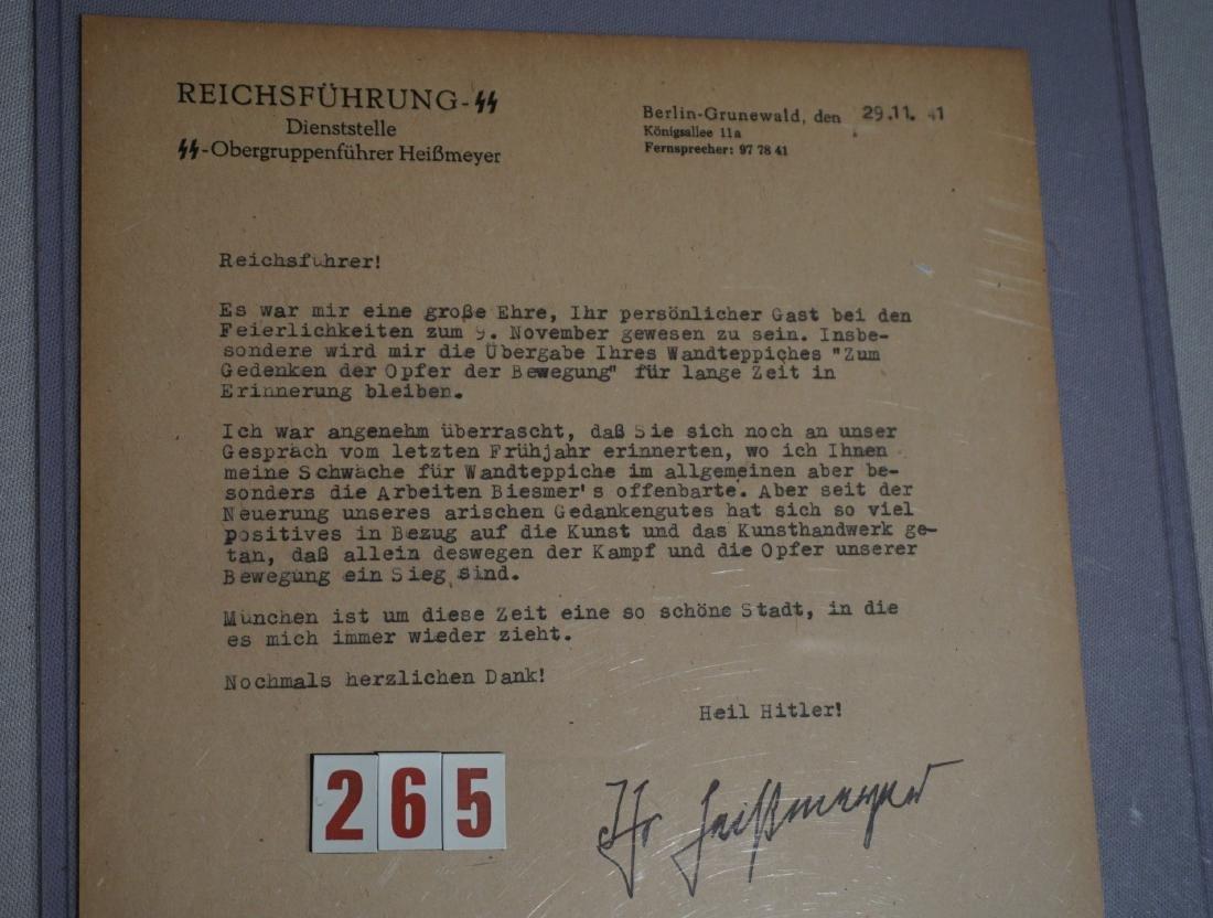LETTER OF SS OBERGRUPPENFUHRER - 3